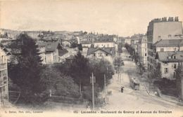 Lausanne (VD) Boulevard De Grancy Et Avenue Du Simplon - VD Vaud