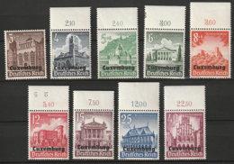 Luxemburg 33/41 ** - Occupation 1938-45