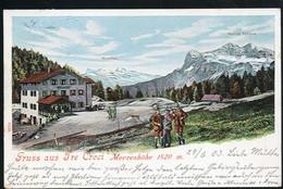 AK/CP  Tre Croci  Belluno  Cortina Ampezzo    Tirol    Gel/circ 1903  Erhaltung/Cond. 2-  Nr. 00958 - Belluno
