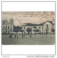 PTGLTP1221-LFT7199TCOMPLA.TARJETA POSTAL DE PORTUGAL,Plaza E Iglesia Animada De ALTER DO CHAO(Portalegre) - Halles