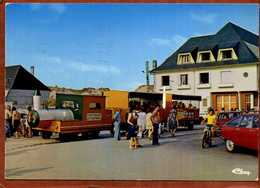 80  CPSM  FORT-MAHON  La Chipaudière  Le Petit Train   Voitures Dont Ami6 Et GS Citroen  Très Bon état - Fort Mahon
