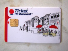 CARTE A PUCE TICKET RESTAURANT    TURQUIE - France