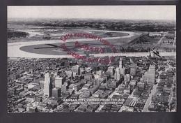 R124 - KANSAS CITY VIEWED From The Air - USA - Airport In Background - Kansas City – Kansas