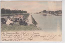57 DIEDENHOFEN  THIONVILLE   La Moselle  Nels,Lothringen 100 N°13  COULEUR - Thionville