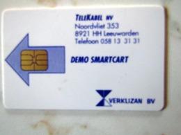 CARTE A PUCE TEST DEMO SMARTCART  MARINE  1997 - Pays-Bas