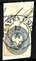 514 - GERMANY - LUBECK - RARE 2,50 SHILLING - 1863 - OLD EMBOSSED FORGERY - FAUX - FAKE - FALSE - FALSCH - Briefmarken