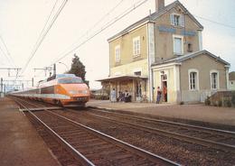 Fontaines (71) Passage Du TGV En Gare De Fontainé-Mercurey - Autres Communes
