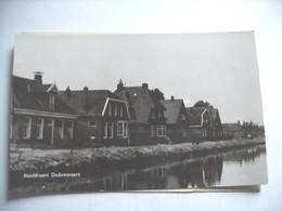 Nederland Holland Pays Bas Dedemsvaart Met Hoofdvaart Fotokaart Photocard - Dedemsvaart