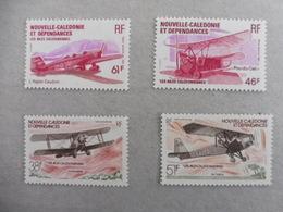 NOUVELLE CALEDONIE - 1982-83 - YT PA 220-21 + 230-31 MNH ** AVIATION - Vliegtuigen