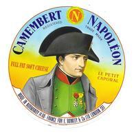 ETIQUETTE De FROMAGE. CAMEMBERT Fabriqué En NORMANDIE..NAPOLEON..le Petit Caporal - Cheese