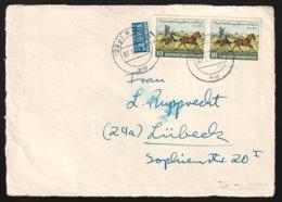 BRD Beleg Briefvorderseite - Used Stamps
