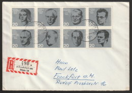 BRD Beleg - [7] Federal Republic