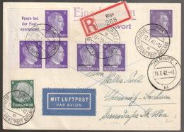 Ostland Beleg - Besetzungen 1938-45