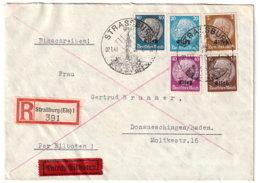 Elasaß Beleg - Besetzungen 1938-45