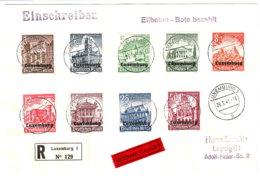 Luxemburg Beleg - Occupation 1938-45
