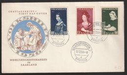 Saar Beleg - Used Stamps