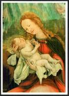 D3871 - TOP Matthias Grünewald Künstlerkarte - Maria Jesus - Krippe Weihnachtskrippe - Verlag Der Kunst Dresden - Auguri - Feste