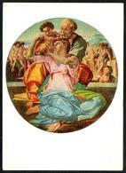 D0083 - Buonarroti Künstlerkarte - Heilige Familie - Krippe Weihnachtskrippe - Verlag Hermes - Non Classificati