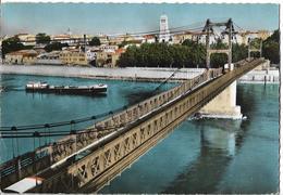 VALENCE - Le Pont Sur Le Rhône - Péniche - Valence