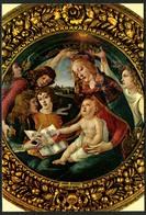 C3898 - TOP Sandro Botticelli Künstlerkarte - Madonna - Krippe Weihnachtskrippe - Firence Galleria Uffizi - Non Classificati