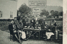 RPCP: Aubange, Longwy, Rodange,  Aubange. Gendarmes Français , Belges Et Luxembourgeois, 2 Scans - Lieux