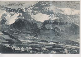 CPA-38-Isère- TREMINIS- Village De L'Eglise Et Le Grand Ferrand- - Altri Comuni