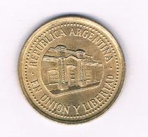 50 CENTAVOS 1992 ARGENTINIE /1704/ - Argentinië