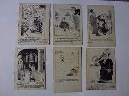 LOT DE 38 CPA HUMORISTIQUES SUR L'EGLISE, VOIR SCAN - Postcards
