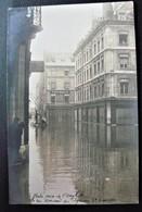 25 - BESANCON -  Les Innondations De 1910 - Rue Morand Et Square St Amour  - Carte Photo Innondation - Doubs - Besancon