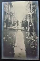 25 - BESANCON -  Les Innondations De 1910 - Rue  Innondée - Carte Photo Innondation - Doubs - Besancon