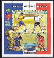 Soccer World Cup 1998 - TOGO - Sheet MNH - Coppa Del Mondo