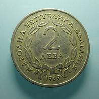 Bulgaria 2 Leva 1969 - Bulgaria