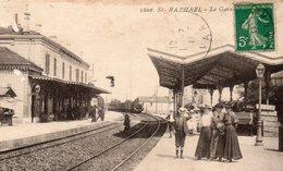 CP-  St RAPHAEL -  La Gare- - Saint-Raphaël