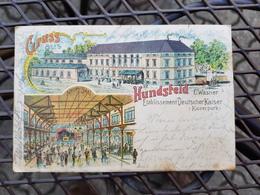 Hundsfeld Bei Breslau Etablissement Deutscher Kaiser - Schlesien
