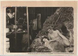 LAMINA 18840: Rodaje De Tarzan Y Su Compañera - Autres Collections