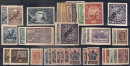 Russia 1918-23, Selection, MNH OG - Unused Stamps