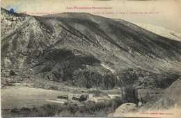 Les Pyrénées Orientales La Cerdagne Francaise QUES  Près De La Tour De Carol Vue à L'Arrivée De Riutès Labouche RV - France