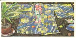 ILLUSTRATEUR  JIMNA NOEL BONNE ANNEE WEIHNACHTEN CHRISTMAS CP DOUBLE KIMONO INVITATION COLLECTIONS ETE 1997 - Non Classificati
