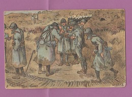 Carte Postale Distribution Du Pinard 14-18 WW1 - 1914-18