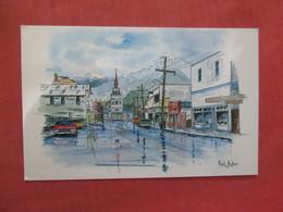 Signed Artist Alaska > Sitka  Ref 3920 - Sitka