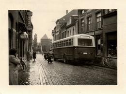 RPCP, Autobus: Aarschot, Bieren Alken, Cinema, Photo Of Old Postcard; 2 Scans - Automobiles