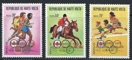 Haute-Volta YT 408-410 XX / MNH Jeux Olympiques Sport - Upper Volta (1958-1984)