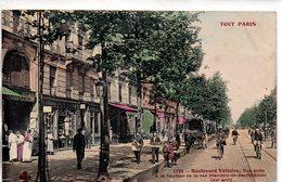 Paris : Série '' Tout Paris '' N° 1272 Boulevard   Voltaire XX Art - Francia