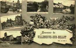 77    Seine Et Marne   Villeneuve Sur Bellot     Multivues - Autres Communes