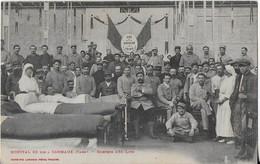 CARMAUX/: Hôpital Militaire 36Bis -Nombre De Lits 250- Marquise De Solages Présente - Carmaux