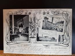 Breslau Um 1900 Gruß Vom Nussbaum - Schlesien