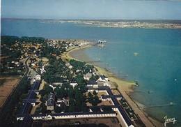 44. SAINT BREVIN LES PINS .VUE AÉRIENNE. POINTE DE MINDIN FACE A ST NAZAIRE. MAISON DÉPARTEMENTALE  ANNÉE 1968 + TEXTE - Saint-Brevin-l'Océan