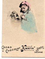 "1 Kleine Chromo's / Cacao Chocolat ""KWATTA"" - Breda (Hollande) - Chocolat"