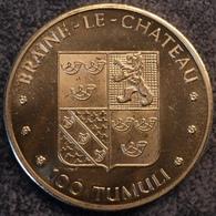 4097 Vz Braine-Le-Chateau 100 Tumuli - Kz Kasteel - Gemeentepenningen