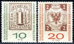 BRD - Mi 310b / 311b - ** Postfrisch (A) - 10+5-20+10Pf               INTERPOSTA - Unused Stamps